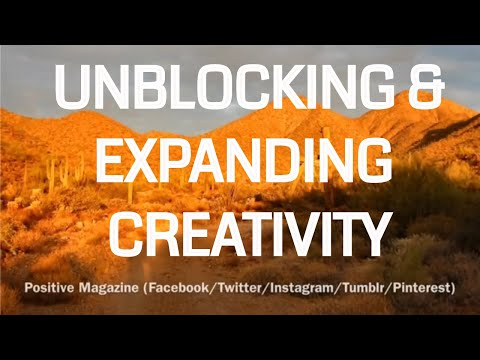 10 Minute Guided Meditation On  Unblocking and Expanding Creativity |   Epic - Uplifting - Healing