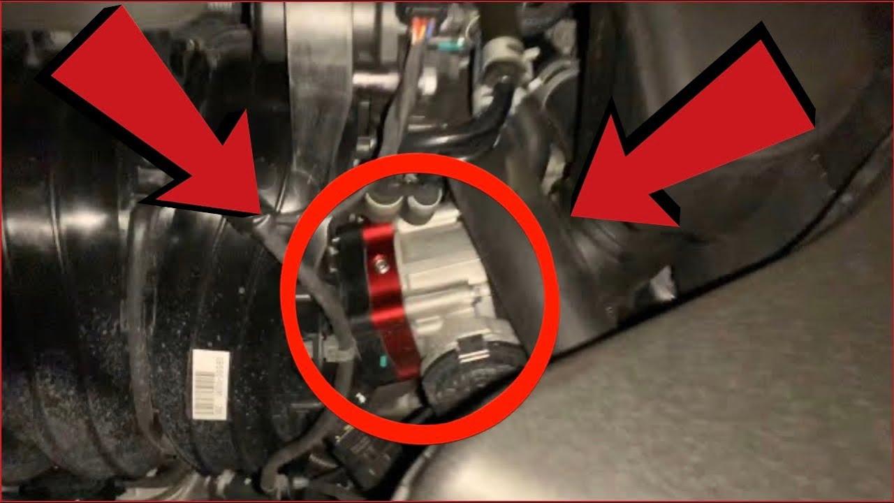 Kia Optima Throttle Body Spacer Install