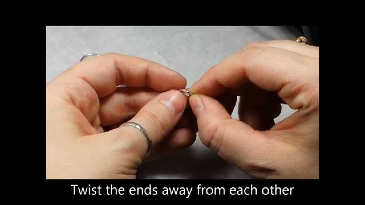 How To Open Close An Endless Nose Ring Youtube
