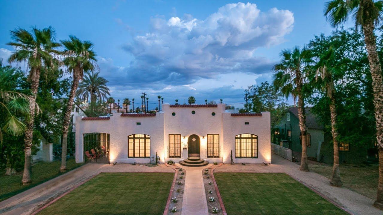 The Roosevelt Historic District In Phoenix Arizona Historic Phoenix Youtube