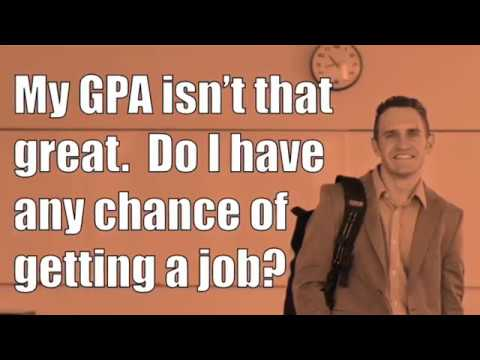 How do I get a job with a low GPA?