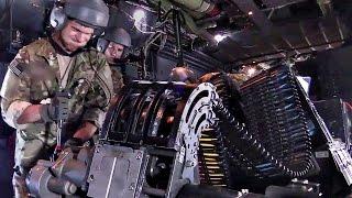AC-130W Stinger II Gunship Live-Fire & Air Refueling Mission
