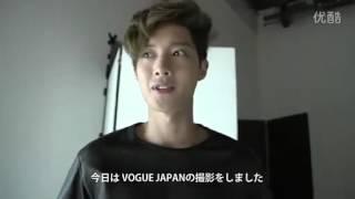 KIM HYUN JOONG in  VOGUE Japan
