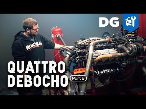 Will Four Diesel Turbos Boost an LS? Audi Quattro Race Car (Part 9)