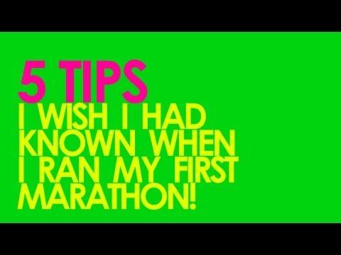 5 TIPS FOR RUNNING YOUR FIRST MARATHON GingerRunner.com