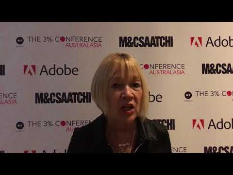 The 3% Conference Australasia: MakeLoveNotPorn's Cindy Gallop