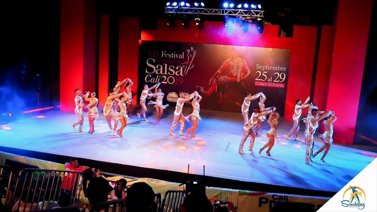 Sondeluz Grupo Cabaret Profesional - Clasificatorias Festival MundialdeSalsa Cali 2019