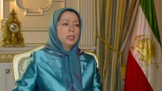 رجوي: تدخلات إيران في المنطقة ورعايتها لحزب الله والحوثيين دليل على ضعف نظام الملالي