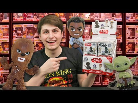 Full Case of Star Wars Mystery Minis Unboxing! x12