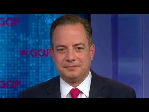 Reince Priebus: Trump is moving in the right direction