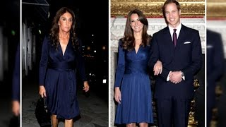 Caitlyn Jenner Wears the Same Dress as Kate Middleton!