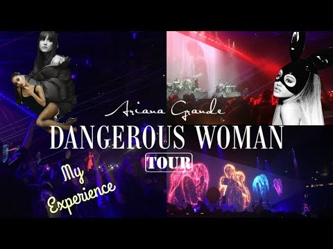 Ariana Grande - Dangerous Woman Tour Dublin // My Experience (With Concert Footage)