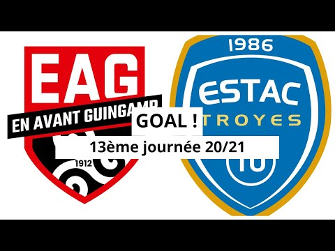 Guingamp Troyes Goals And Highlights