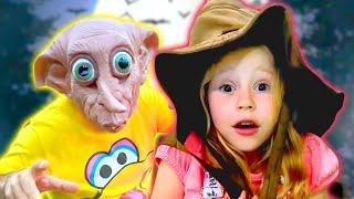 حيل ستايسي وأبي وقصص الرعب للأطفال