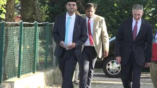 Sua Eccellenza Louis Bono in visita alla sede dell'Ahmadiyya Italia