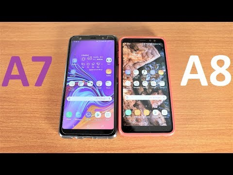 Samsung Galaxy A7 2018 Vs Galaxy A8 2018 Speed Test