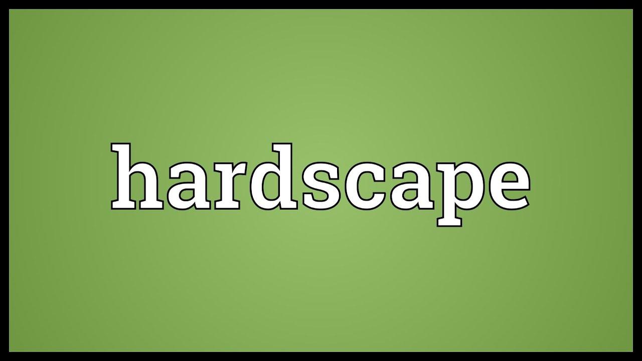 hardscape meaning youtube
