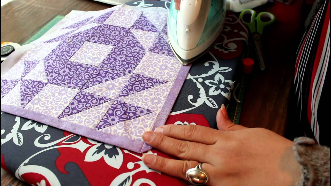 Quilt Binding Without Binding What? - YouTube : putting binding on a quilt - Adamdwight.com