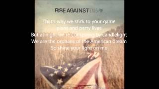 Rise Against - EndGame - Satellite lyrics