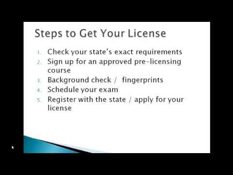 How to Get a Insurance License for Life and Health Insurance
