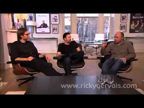 Ricky Gervais, Stephen Merchant and Karl Pilkington Appeal for Comic Relief 2011