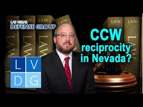 Does Nevada give reciprocity for CCW permits from other states?