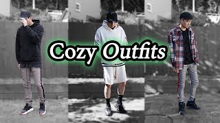 9a44a45e84c Cozy Outfit Ideas | Ft. MNML LA | Men's Cozy Lookbook w/ Yeezy, Air Jordan,  Adidas