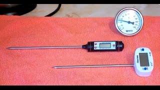 видео Термометры (аналоговые и цифровые)
