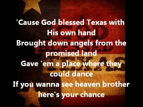 Little Texas- God Bless Texas (with lyrics)