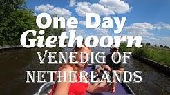 Unser Tag in Giethoorn(Venedig des Nordens)mit dem Boot die schöne Grachtenstadt erkunden!Wunderbar!