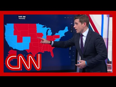 Map shows how election results shifted toward Biden