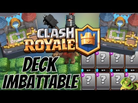 Deck imbattable monter ar ne 7 facilement sur clash for Clash royale meilleur deck arene 7