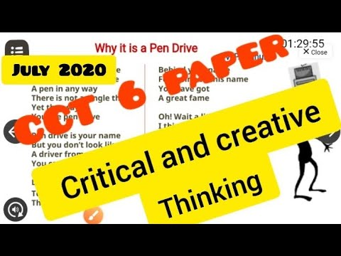 Critical Thinking Application Paper Example | Graduateway
