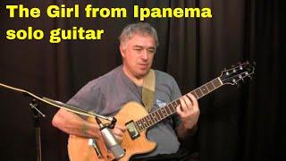 The Girl from Ipanema, Jobim, Astrud Gilberto, Fingerstyle Solo Guitar Cover, Jake Reichbart | Jake Reichbart