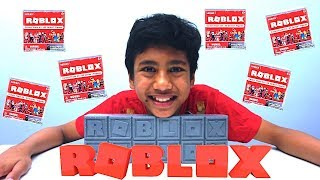 ROBLOX Mystery Surprise Blind Bags Box Game Figures Unboxing | aaronVision