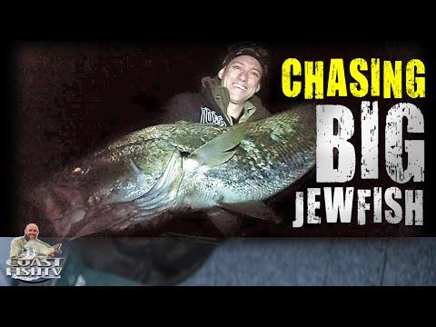 BIG JEWFISH Fishing Pursuit | CoastfishTV Ep1