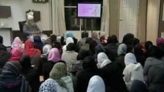 Gulshan-e-Waqfe Nau (Nasirat) Class: 2nd January 2010 - Part 7 (Urdu)