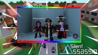 Roblox SIilent Assassin con Deb + Ethan