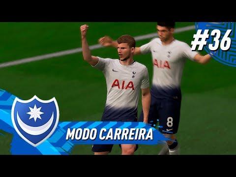 A FANTÁSTICA FÁBRICA DE CHOCOLATES DO TOTTENHAM !!! - MODO CARREIRA #36 l FIFA 19