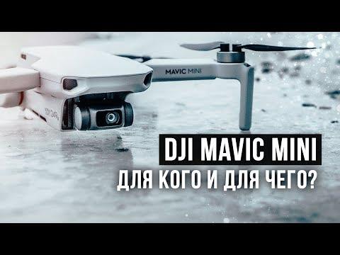 MAVIC MINI - обзор, тест адекватности, батареи и дальности