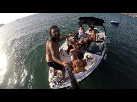 Crazy Boat Party In Lebanon