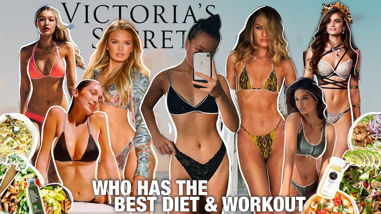 EATING & WORKING OUT LIKE VICTORIA'S SECRET MODELS FOR A WEEK (restriction, diet talk, weight loss?)