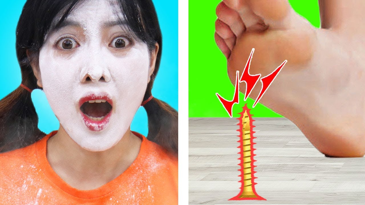 8 DUCT TAPE LIFE HACKS AND PRANKS   BEST DIYs AND CRAFTS BY CRAFTY TOUCH