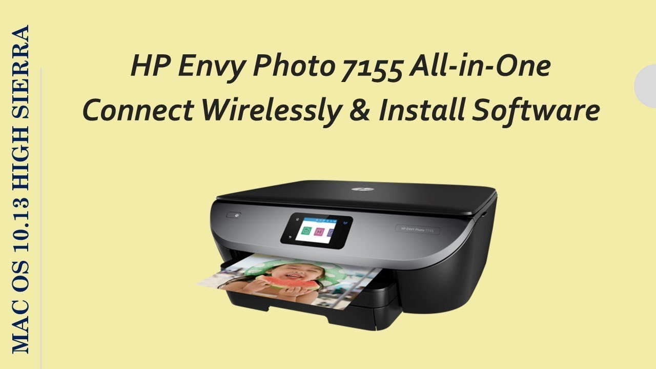 Hp Envy Photo 7155 Connect A Printer Wirelessly And
