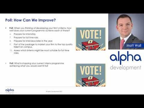 Alpha's Intern Toolkit!