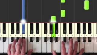 Easy Piano Lessons - Counting Crows - Colorblind - Piano Tutorial new