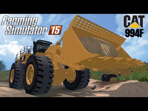 Farming Simulator 2015 Mod Loader CAT 994F FOR MINING