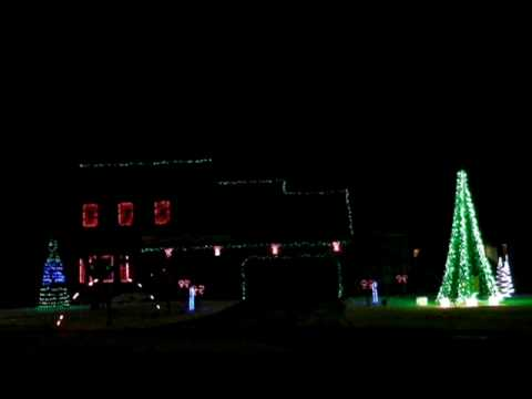 Merry christmas house with music going with christmas for Christmas house music