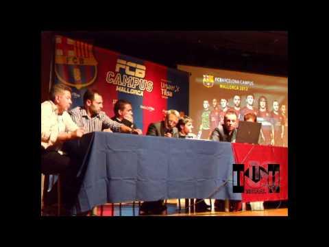 """MICAAL-TV """"Presentación... segundo Campus FC Barcelona en Calvià"""""""