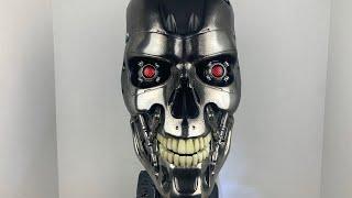 Terminator 2 Judgment Day Pure Arts T-800 Endoskeleton Art Mask Life Size Replica!